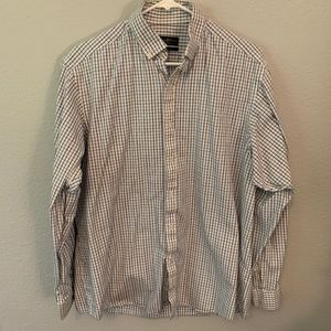Checkered Dress/Office Shirt by Club Room
